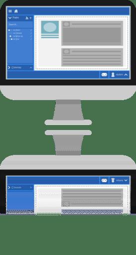 Synergy Desktop Reflection
